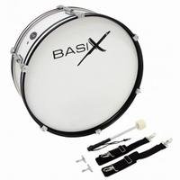 "BASIX Marching bass drum 22""x7"""