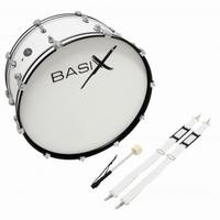 "BASIX Marching bass drum 24""x12"""