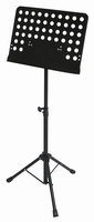 GEWA Music stand 48x35 - ABS connection - tube joint - black