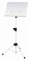 GEWA Music stand 48x35 - ABS connection - tube joint - white