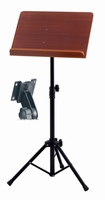 GEWA Music stand 48x35 - ABS connection - wood