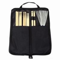 BASIX drumbag + 5A + 5B + 7A + 2B + rods + brushes