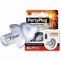 ALPINE PartyPlug earplugs - Transparant