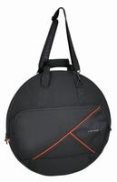 """GEWA Premium cymbal bag 22"""" + 15"""" + drumsticks"""