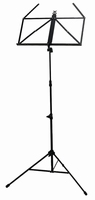 FX foldable music stand black - 4,5 x 20,5cm