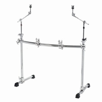 GIBRALTAR Chrome curved basic rack with cymbalholders