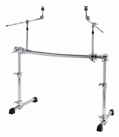 GIBRALTAR Chrome Serie Height-Adjustable Rack with cymbalhol