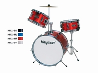 HAYMAN Drum set junior - black