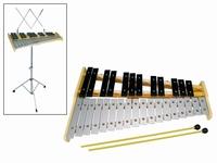 SONORUS Glockenspiel chromatic G'-C''' + stand
