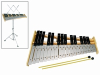 SONORUS Glockenspiel chromatic F'-C''' + stand