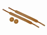 BOSTON Cymbal straps leather 29mm (1 pair)