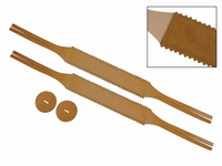 BOSTON Cymbal straps leather 42mm (1 pair)