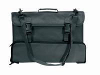 BOSTON Musicstand bag + strap + accessory pocket - BLACK