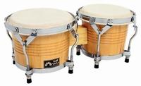 "CLUB SALSA bongo 6½ + 7½"" - Natural"