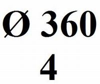 Drumhead Sonorus 360mm - 240mµ (4)