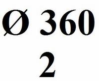 Drumhead No logo 360mm- 120mµ (2)