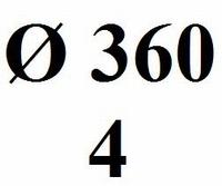 Drumhead No logo 360mm - 240mµ (4)