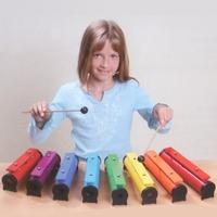 BOOMWHACKERS Rainbow tube set 8pcs