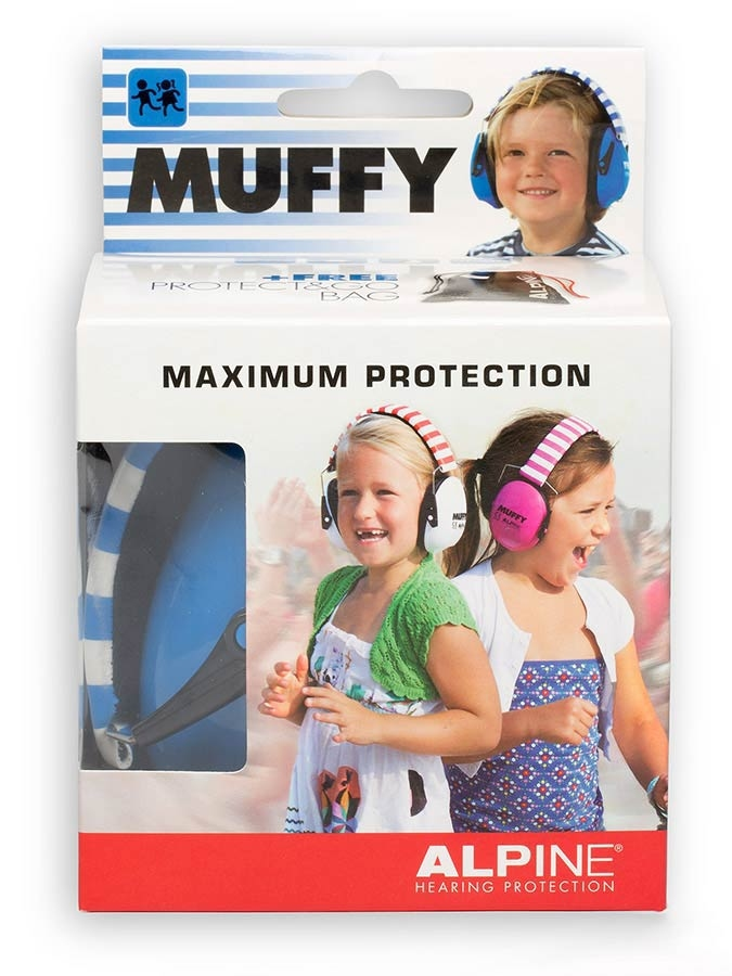 ALPINE Muffy Children earmuff Black