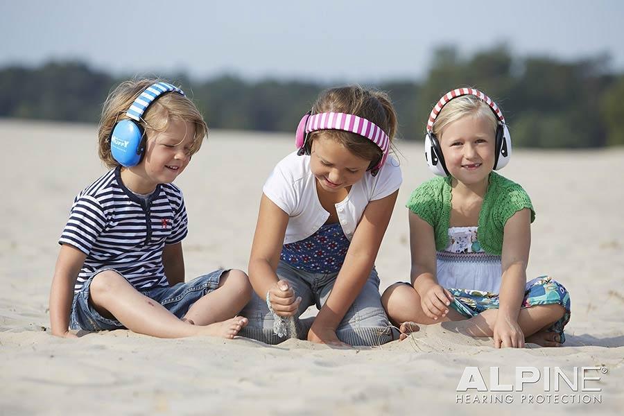 ALPINE Muffy Children earmuff Blue