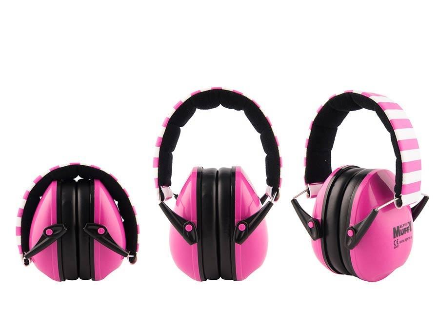 ALPINE Muffy Children earmuff Pink