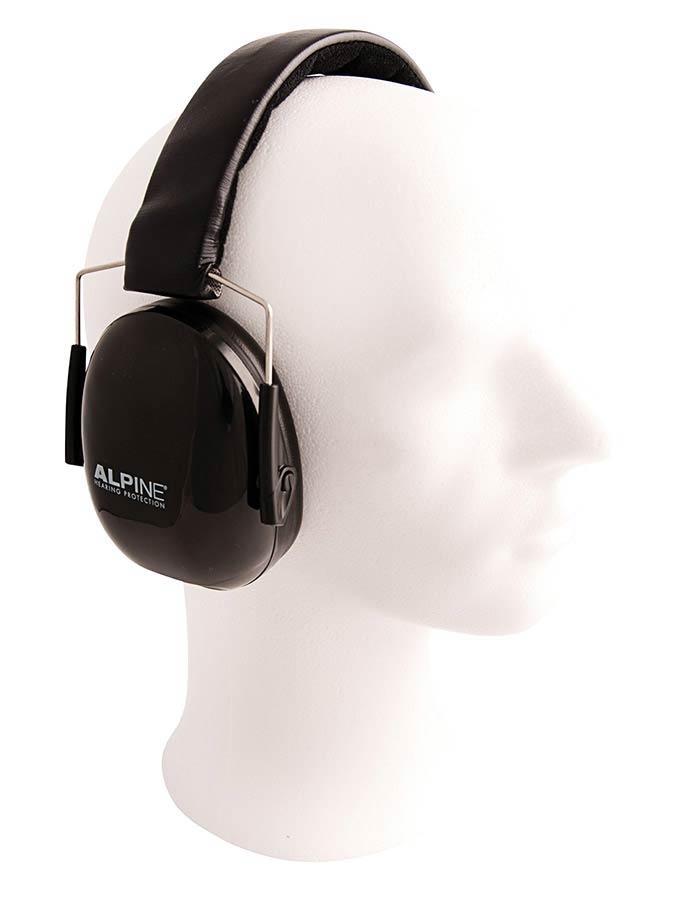 ALPINE Muffy Music earmuff black