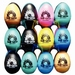 CLUB SALSA egg shaker - 72 pcs