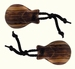 SONORUS Traditional Castagnettes (1 pair) Indian Rosewood