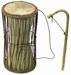 KAMBALLA Talking drum Ø17x30cm