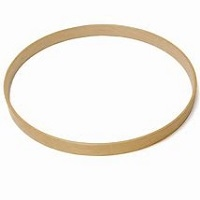 Bass drum hoop Esdoorn/mahonie (Maple/Mahagony)