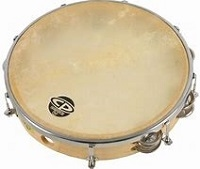 Tambourine (adjustable natural head)