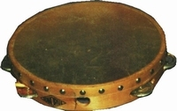 Tambourine (fixed natural head)