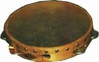 Tambourine (fixed natural head)