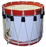 Trommen met houten ketel (Wooden shell)