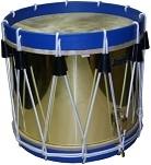 Trommen met messing ketel (Brass shell)